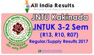 JNTUK 3-2 Sem (R13, R10, R07) Supply Results 2017 – B.Tech/B.Pharm | jntukresults.edu.in