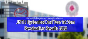 JNTUH 2-1 Recorrection Results 2020