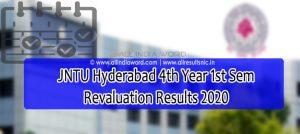 JNTUH 4-1 Recounting Results 2020