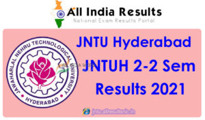 JNTUH 2nd Year 2nd Sem Results 2021