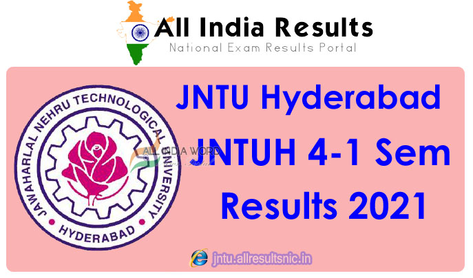 JNTUH 4th Year 1st Sem Results 2021